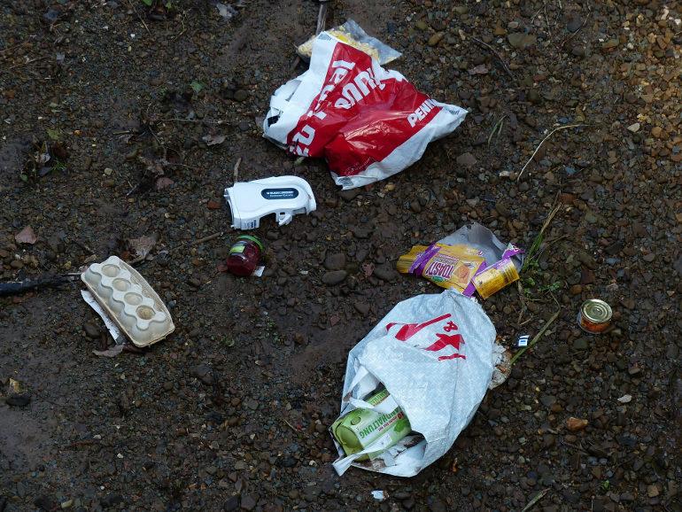 garbage plastic bags