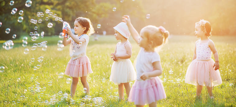 involve kids in spring cleaning