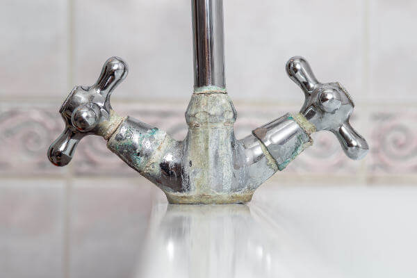 limescale on taps