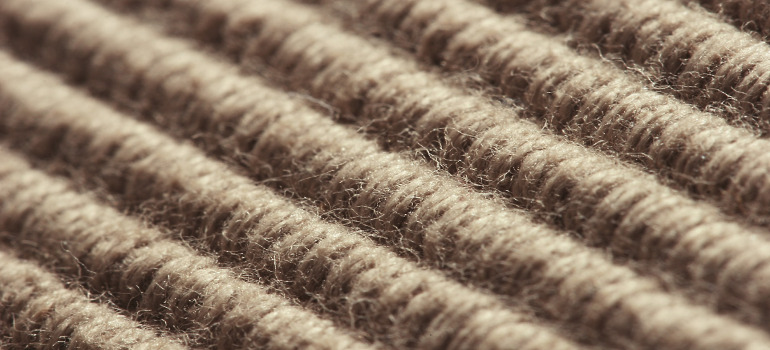 Natural fibre carpeting