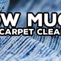 HELP! How Much Does Professional Carpet Cleaning Cost On Average? (with example London prices)